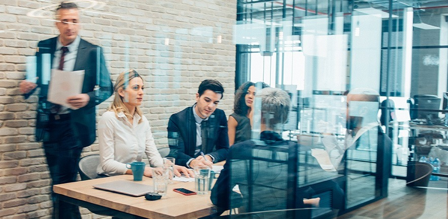 Image of people in an office.