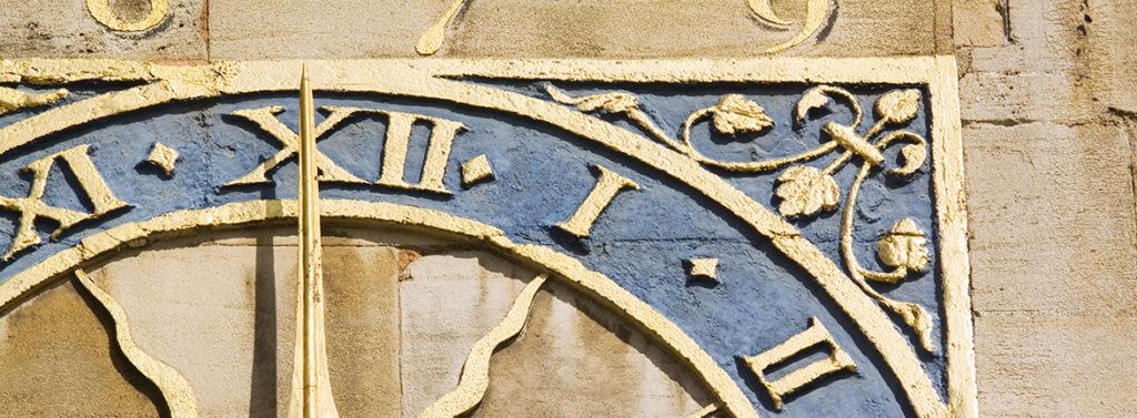 Cambridge clock.
