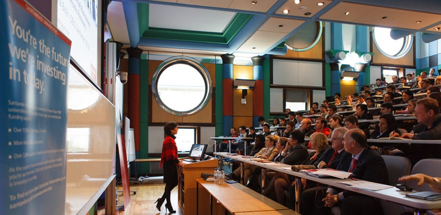 Lecture by Ana Botin, CEO of Santander UK