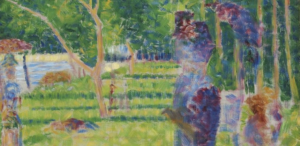 Image of a Seurat painting.
